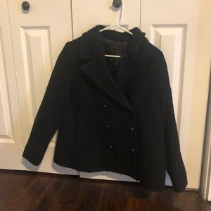 Petite Banana Republic Peacoat